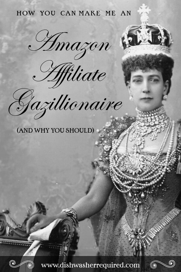 How you can make me an Amazon Affiliate Gazillionaire, and why you should. #AmazonGazilllionaire bit.ly/1dqXH4n