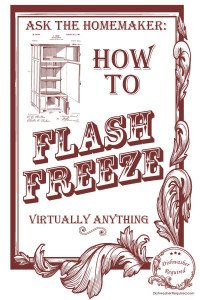How to Flash Freeze Virtually Anything