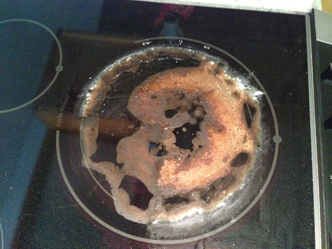 How to clean burnt milk off a glass cooktop: Four methods tested