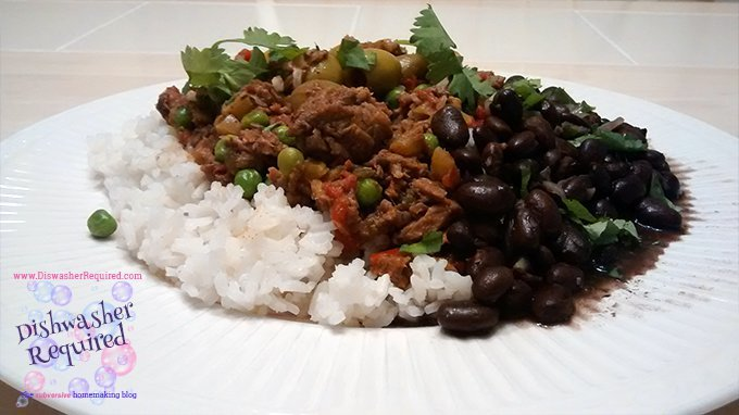 Super Simple Ropa Vieja, cooked in a slow cooker / crockpot. Couldn't be easier!
