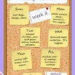 The Heathen Homemaker's Weekly Meal Plan - Week 2