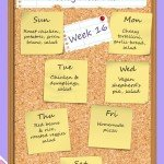 The Heathen Homemaker's weekly meal plan - week 16. She always has some great ideas!