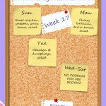 The Heathen Homemaker's weekly meal plan - week 17. She always has some great ideas!